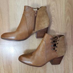 Aldo Leather Ankle Pebbled Block heel